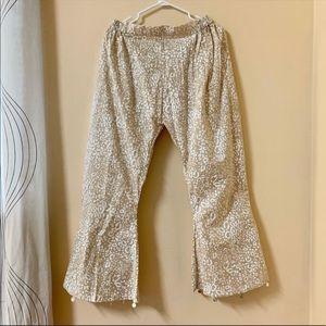 Women's Summer leopard design Trouser